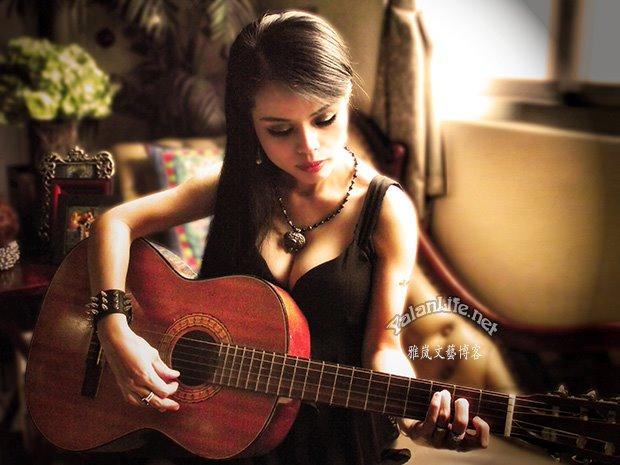Taipei Life Art Music Guitar Gothic Girl Romanticism 臺北生活 音樂藝術 吉他 哥特女子 浪漫主義 Yalan雅嵐文藝博客